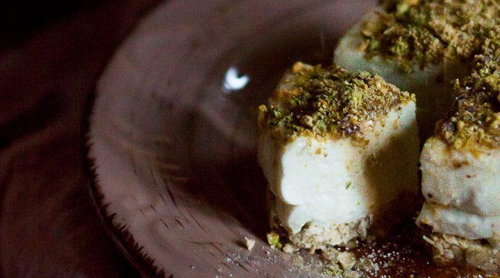 Raw Match-eesecake, la cheesecake cruda e glutenfree