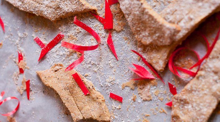 Bugie-biscotto, un dolce di carnevale al forno