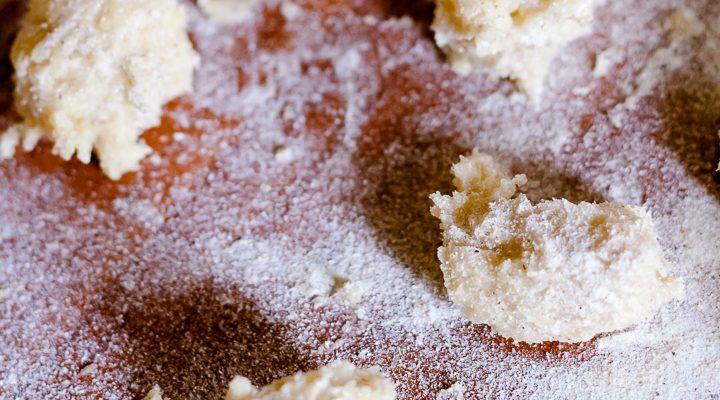 Gnocchi di polenta e grano saraceno