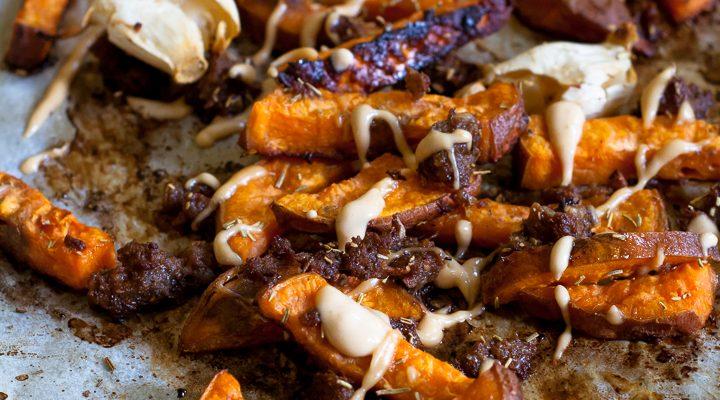 Fries di patata dolce: patatine semplici e senza olio