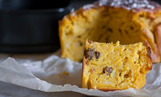 Pumpkin cake soffice e senza glutine