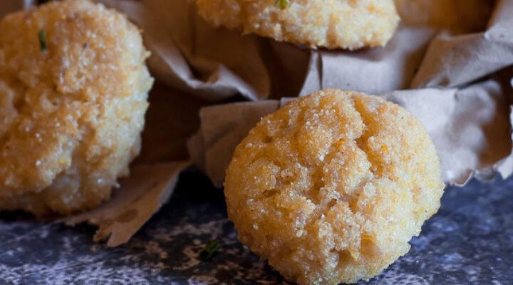 Nuggets di riso e pollo