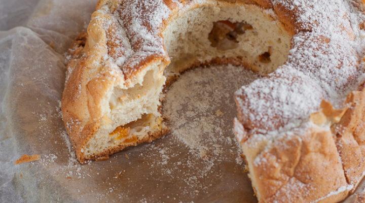 Torta Donizetti con farine senza glutine