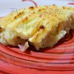 purè di patate al forno