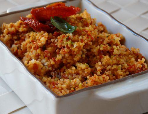 Cous cous al pesto di pomodori secchi