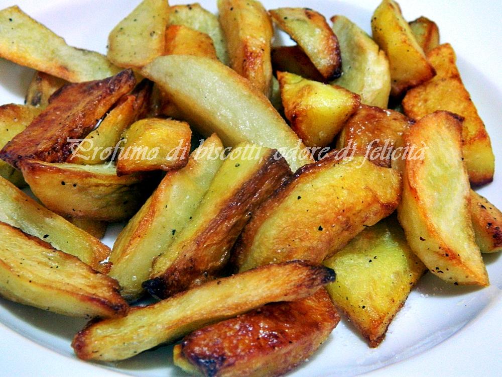 Patate fritte non unte profumo di biscotti odore di for Quando raccogliere le patate