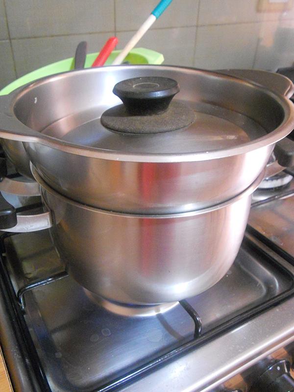 Riso al vapore senza vaporiera colonna porta lavatrice for Cucinare a vapore