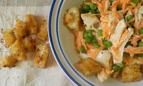 Insalata di pollo e carote – ricetta estiva e leggera