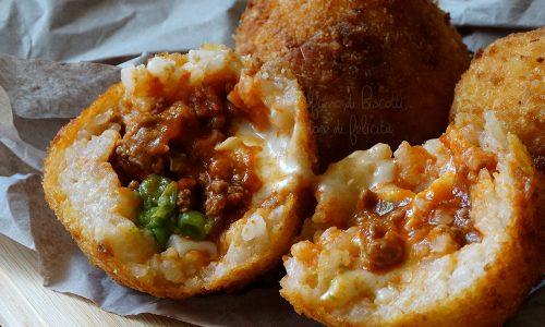 Arancini al ragù – ricetta siciliana