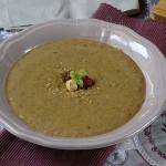 zuppa di nocciole
