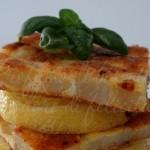 frittata di patate al limone