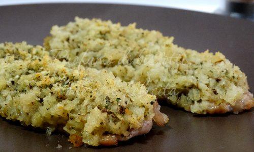 Lonza in crosta aromatica - ricetta veloce