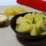 insalata di patate al limone