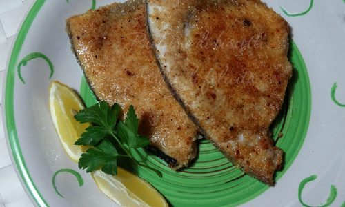 Pesce spada panato al limone