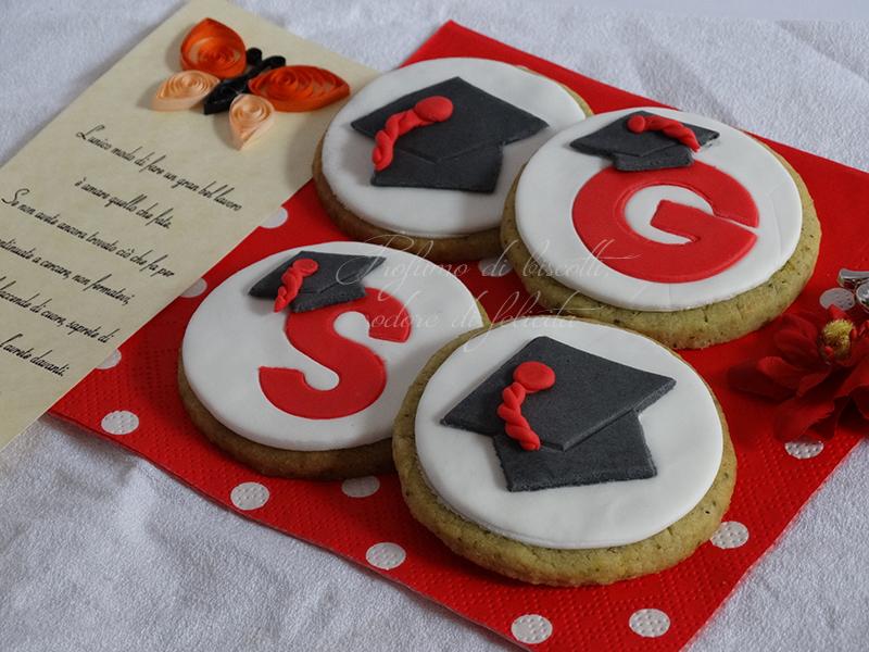Eccezionale Biscotti di laurea | Profumo di biscotti, odore di felicità JH16