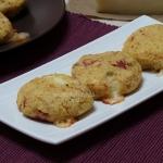 medaglioni patate e prosciutto