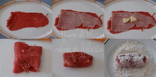 involtini di carne ripieni