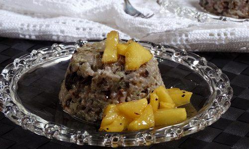 Tortini di riso e radicchio
