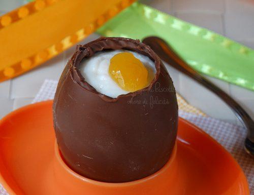 Uova di cioccolato ripiene