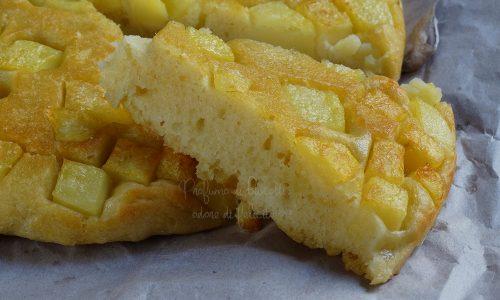 Focaccia rovesciata alle patate