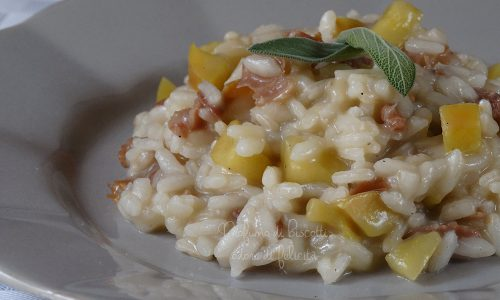 Risotto alle mele dell'Etna