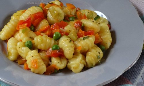 Gnocchi alle verdure