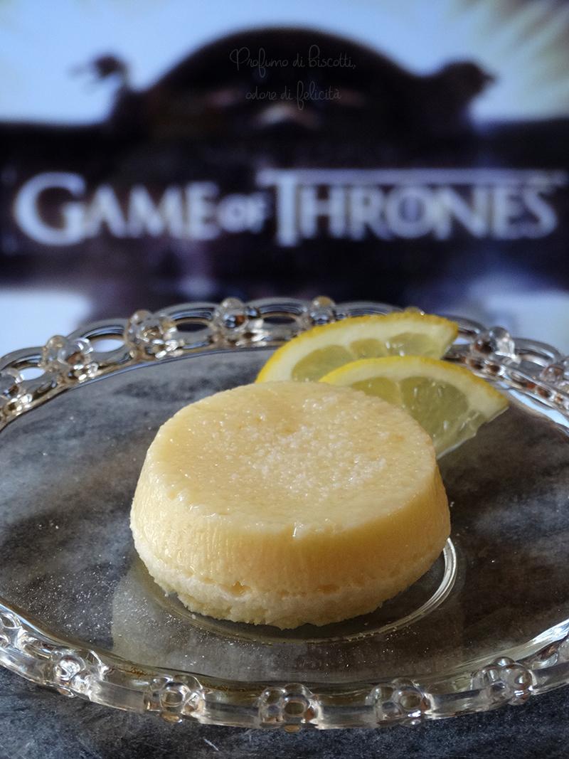 tortine al limone il trono di spade