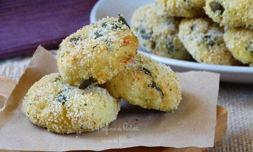 Polpette patate e fagiolini