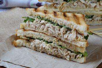 sandwich al pollo leggeri senza maionese