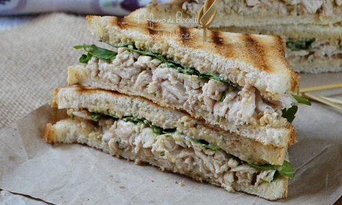 Sandwich al pollo leggeri