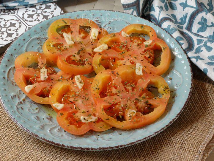 insalata di pomodori cuore di bue