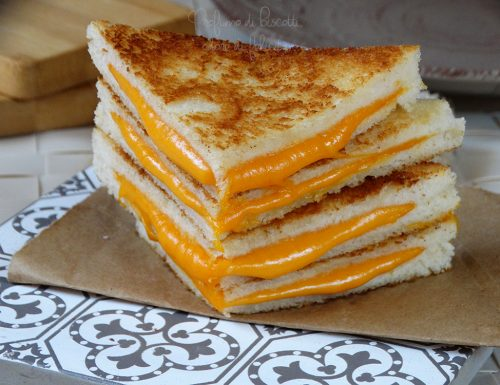 Grilled cheese sandwich #SerialFood