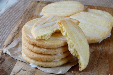 biscotti al limone e semi di sesamo