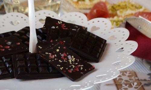 Cioccolatini al sale per l'antipasto
