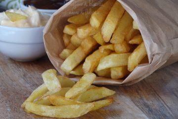 patatine fritte da fast food