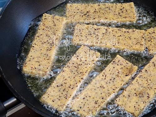 crostini di polenta taragna e burro