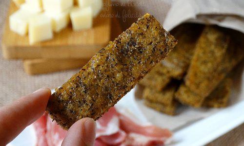 Crostini di polenta taragna