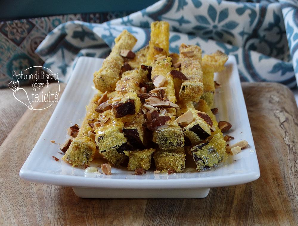 melanzane miele e mandorle