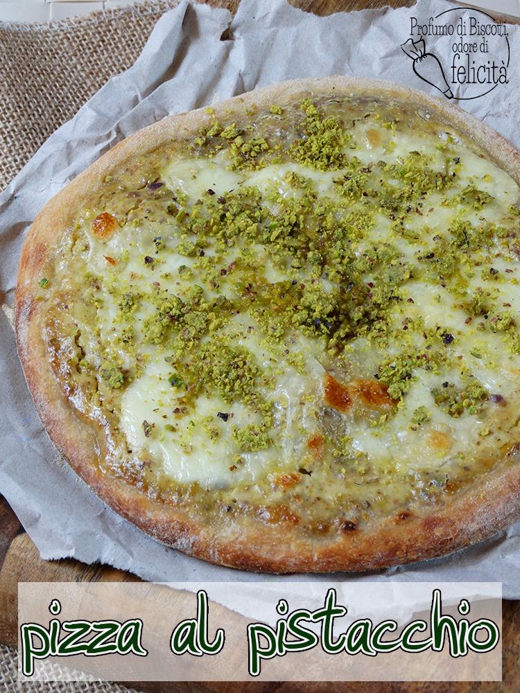 pizza al pistacchio di bronte