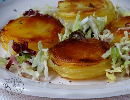 Tortini di patate sfogliati