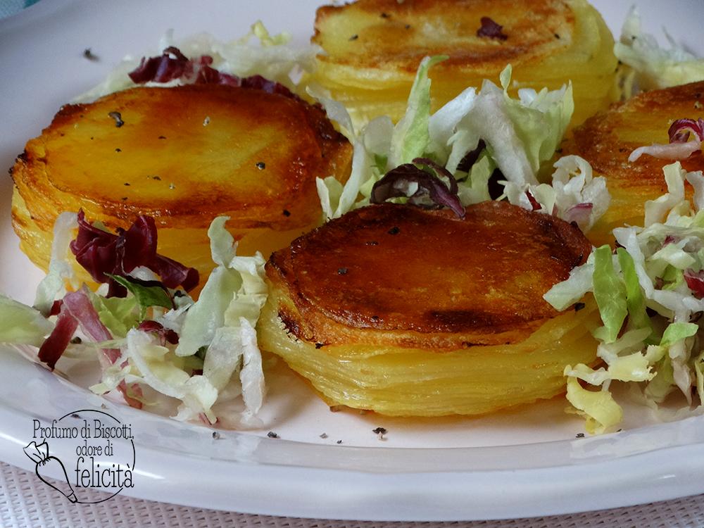 tortini di patate croccanti sfogliati