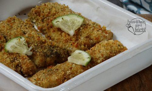 Cotolette di pesce al forno