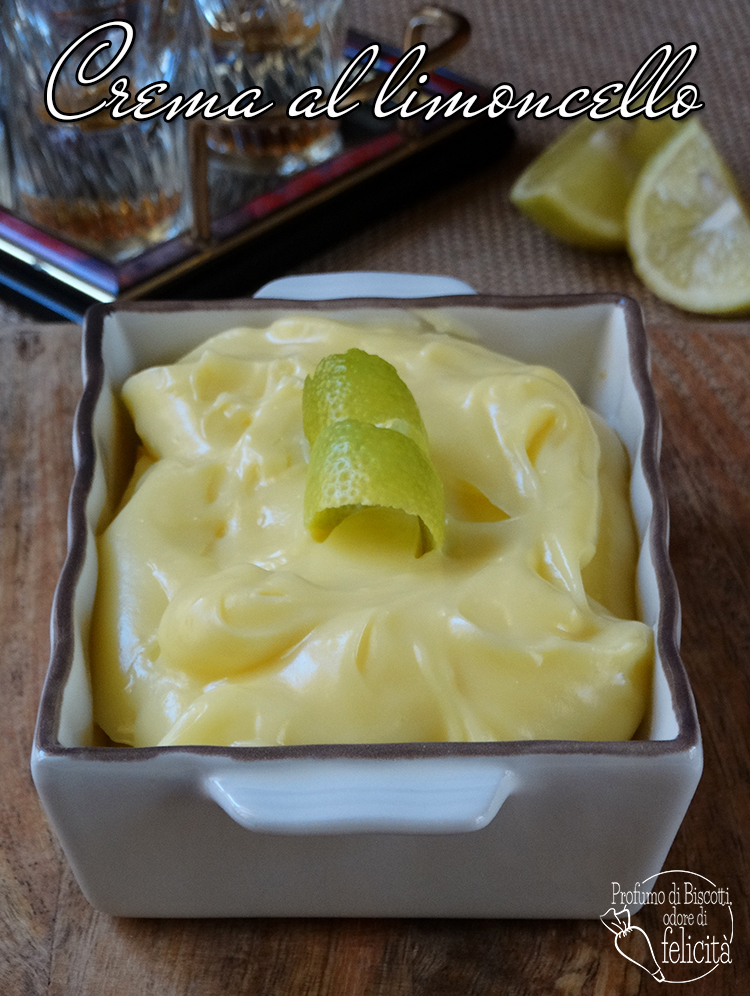 crema al limoncello
