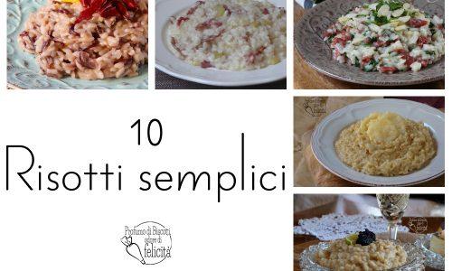 Risotti semplici – 10 ricette gustose
