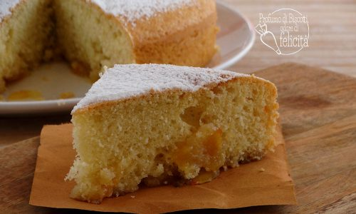 Torta soffice con marmellata di arance