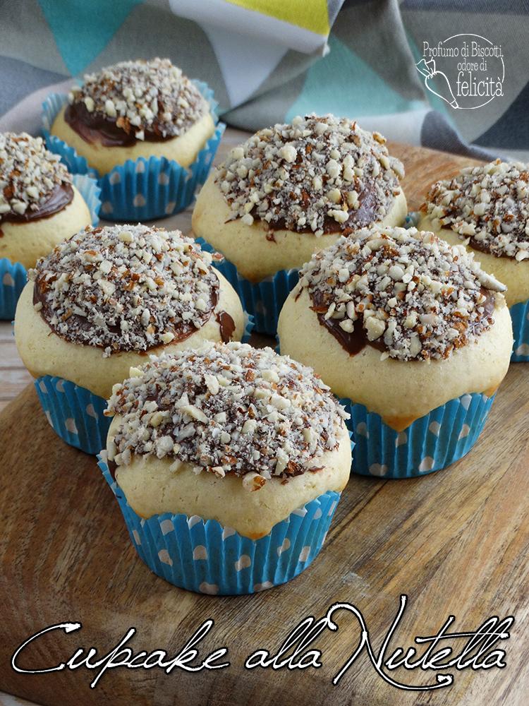 cupcake alla nutella e cioccolato