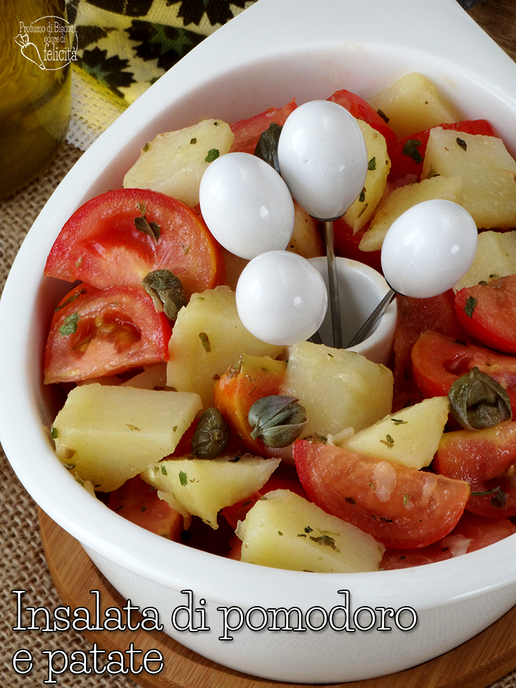 insalata pomodoro patate capperi