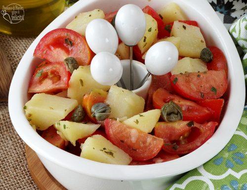 Insalata di pomodoro e patate