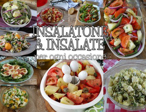 Insalatone e insalate fresche e veloci