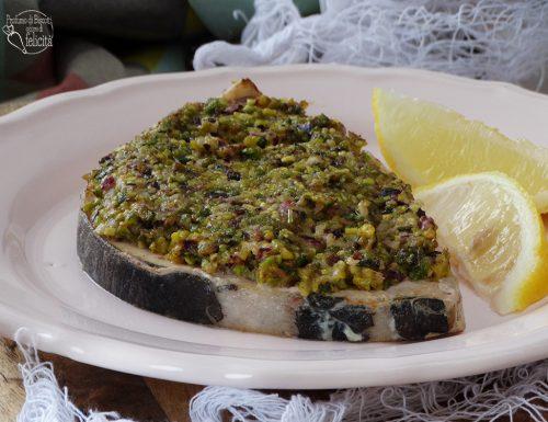 Pesce spada al pistacchio